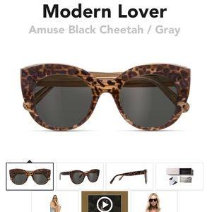 Dblanc x Amuse Society Modern Lover  - cheetah